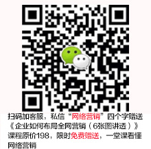 添加微信号:sem159,免费学习网络营销
